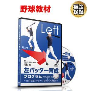 野球 教材 DVD 左バッター育成プログラム〜1ヵ月で左バッターになる「10の秘訣」〜