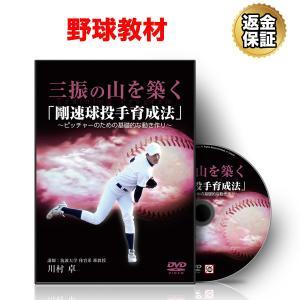 野球 教材 DVD 三振の山を築く「剛速球投手育成法」〜ピッチャーのための基礎的な動き作り〜