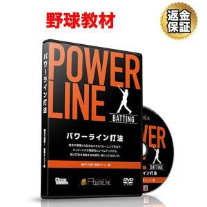 野球 教材 DVD POWER LINE打法?親子で特訓!飛距離アップトレーニング?