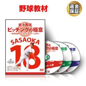 野球 DVD 佐々岡流 ピッチングの極意〜体感速度をアップさせるフォーム作り〜