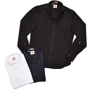 GUY ROVER ギローバー コットン 鹿の子 ワイドカラーシャツ|realclothing