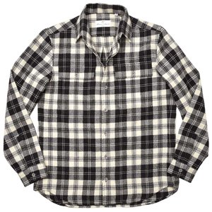 Massimo d'Augusto マッシモ ダウグスト TEO ウール フランネル チェック CPOシャツジャケット|realclothing