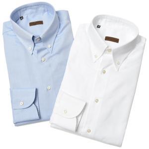 Stile Latino スティレ ラティーノ コットン ロイヤルオックスフォード ボタンダウンカラー ドレスシャツ|realclothing