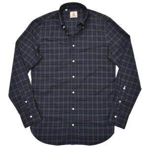 GUY ROVER(ギローバー)コットン タータンチェック ボタンダウンカラーシャツ|realclothing