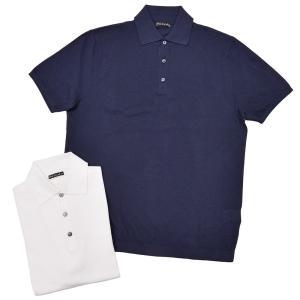 Stile Latino(スティレ ラティーノ)コットン ジャガード ショートスリーブ ニットポロシャツ realclothing