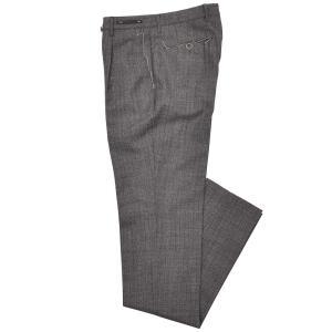PT01(ピーティーゼロウーノ)HEPCAT ウール ヘリンボーン 1プリーツ パンツ GENTLEMAN FIT|realclothing