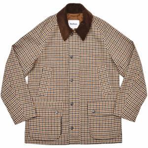 Barbour バブアーBEDALE SL ビデイル BLISSTEX TWEEDS ウール ツイード ガンクラブチェック ジャケット|realclothing