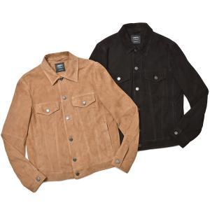 EMMETI エンメティ JACK ジャック ゴート スエード Gジャン型 レザージャケット|realclothing