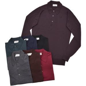 JOHN SMEDLEY(ジョンスメドレー)DORSET 30ゲージウール ニット ポロシャツ|realclothing