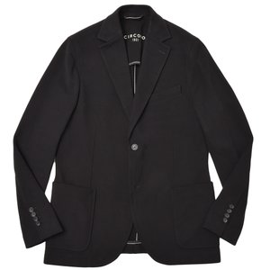 CIRCOLO 1901 チルコロ1901 コットン ストレッチ カシミヤタッチジャージー シングル2Bジャケット realclothing