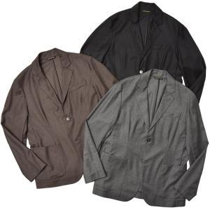 giab's ARCHIVIO ジャブスアルキヴィオ STROZZI GOLD ウール カシミヤ セットアップ シングル2Bジャケット realclothing