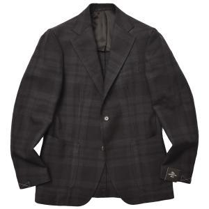 TITO ALLEGRETTO ティト アレグレット ウール シャドータータンチェック シングル3Bジャケット realclothing