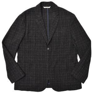 giab's ARCHIVIO ジャブスアルキヴィオ STROZZI ワイルドツイード グレンチェック セットアップ シングル2Bジャケット realclothing