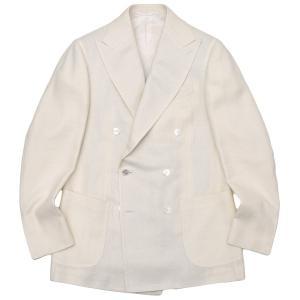 Stile Latino スティレ ラティーノ LEO シルク ヴァージンウール ジャガード ダブル6Bジャケット|realclothing