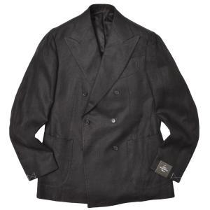 TITO ALLEGRETTO ティト アレグレット リネン ツイル ダブル6Bジャケット|realclothing