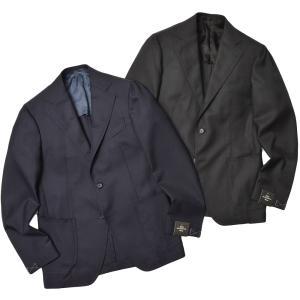 TITO ALLEGRETTO ティト アレグレット ウール ホップサック シングル3Bジャケット|realclothing