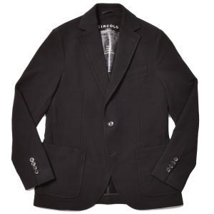 CIRCOLO 1901 チルコロ1901 コットン ストレッチ カシミヤタッチジャージー シングル2Bジャケット|realclothing