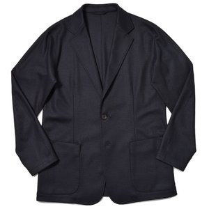 Paul Stuart ポールスチュアート ウール ソフトメルトンジャージー シングル2B TPSジャケット|realclothing