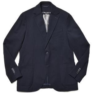 CIRCOLO 1901 チルコロ1901 ウール コットン ストレッチ 鹿の子ジャージー シングル2Bジャケット|realclothing