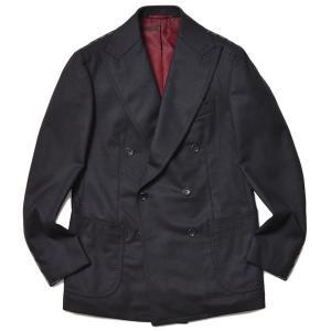 STILE LATINO スティレ ラティーノ ウール フランネル セットアップ対応 ダブル6Bジャケット LEO|realclothing