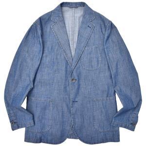 Matteucci(マテウッチ)MONZA コットン シャンブレー シングル2Bシャツジャケット|realclothing