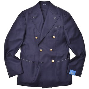 Gabo(ガボ)PANAREA ウール ホップサック ダブル6Bジャケット|realclothing