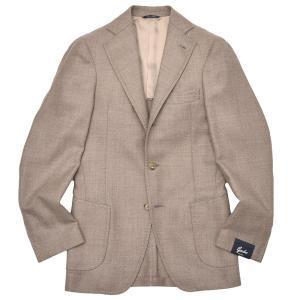 Gabo(ガボ)NEW NAPOLI ロロピアーナ ウール シルク ツイル シングル3Bジャケット|realclothing