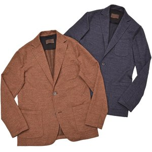 altea(アルテア)ウール コットン ツイル メランジ シングル2Bシャツジャケット|realclothing