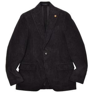 LARDINI(ラルディーニ)EASY コットン コーデュロイ ピークドラペル シングル2Bジャケット|realclothing