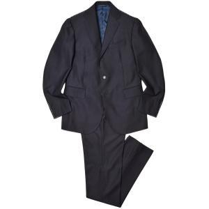 STILE LATINO スティレ ラティーノ ウール サージ 1プリーツ シングル3Bスーツ VINCENZO|realclothing