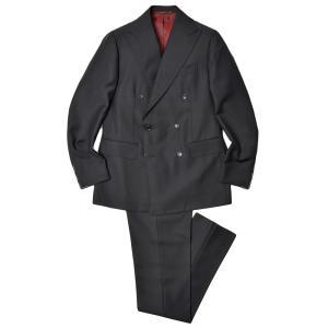 STILE LATINO スティレ ラティーノ ウール モヘア トロピカル 1プリーツ ダブル6Bスーツ LEO|realclothing