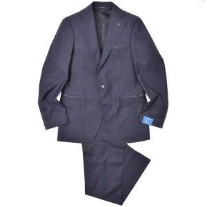 Gabo(ガボ)NEW NAPOLI ウール トロピカル ストライプ 1プリーツ シングル3Bスーツ|realclothing