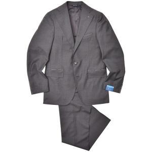Gabo(ガボ)NEW NAPOLI ウール トロピカル メランジ 1プリーツ シングル3Bスーツ|realclothing