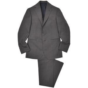Stile Latino(スティレ ラティーノ)ウール トロピカル グレンチェック 1プリーツ シングル3Bスーツ|realclothing