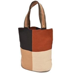 GUANABANA handmade グアナバナハンドメイド Liam Bag アクリル糸 パーテーションチェック トートバッグ|realclothing