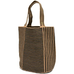 GUANABANA handmade グアナバナハンドメイド Liam Bag アクリル糸 ストライプ&ボーダー トートバッグ|realclothing