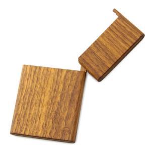 [木製][木の名刺入れ]島根県/ヤクモ家具製作所 \パチッ/と蓋の音が最高!木製名刺入れ-ウォルナット[カードケース](女性用/男性用/メン|realjapanproject|02