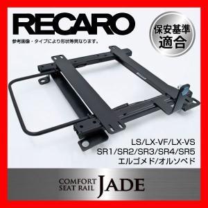 レカロ SR2/3/4 シートレール 右側 ステップワゴン RK1/RK2 RK3/RK4|realspeed