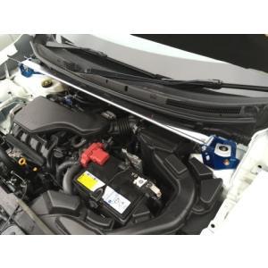 KAWAI WORKS エクストレイル T32 '13/12〜 フロントストラットバー typeOS NS0890-FTO-00|realspeed