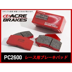 アクレ ACRE PC2600 ブレーキパッド フロント用 ...