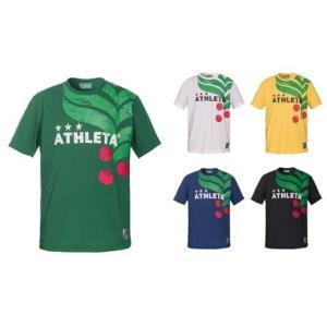 新作 アスレタ ATHLETA 19SS 03323J JR カフェブラロゴTシャツ  ジュニア サッカー フットサル ウェア  レアルスポーツ realsports