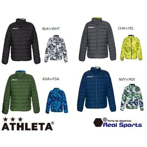 《特価》ATHLETA(アスレタ)リバーシブルウォーマージャケット 19AW 04128 中綿 サッカー フットサル ウェア サッカー用品 レアルスポーツ|realsports