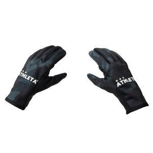 【特価】ATHLETA アスレタ フィールドグローブ メンズ フリーサイズ 手袋 サッカー フットサル 05205 スマホ対応  レアルスポーツ|realsports