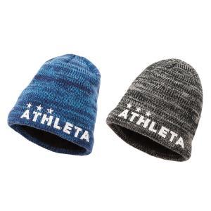 【特価】ATHLETA アスレタ ウォームニットキャップ  帽子 メンズ フリーサイズ ビーニー サッカー用 フットサル用 ニット帽 05222 レアルスポーツ|realsports