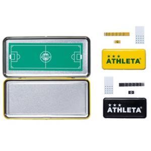 アスレタ ATHLETA ハードペンケース 筆箱 作戦盤 05245 サッカー フットサル レアルスポーツ|realsports
