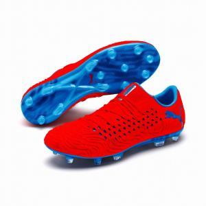 サッカースパイク プーマ 新作 フューチャー 19.1 NETFIT LOW FG AG サッカー用 スパイク 限定品 105534-01 レアルスポーツ|realsports