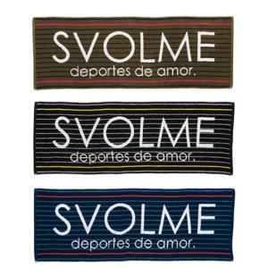 スボルメ SVOLME 19SS ジャガードスポーツタオル  サッカー フットサル ランニング 1191-10229 レアルスポーツ|realsports