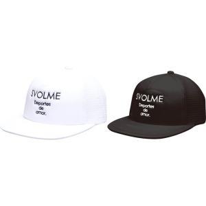 スボルメ SVOLME 19 SS 新作 フラットメッシュキャップ 熱中症対策 帽子 サッカー フットサル ランニング 1191-11021 レアルスポーツ|realsports