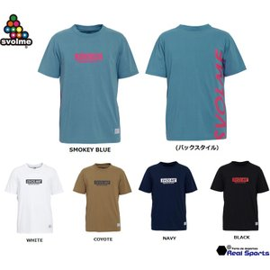 《特価》SVOLME(スボルメ)ボックスロゴTシャツ 1191-25800 半袖Tシャツ サッカー ...