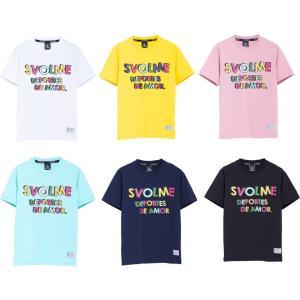 《特価》SVOLME スボルメ 19AW 1193-34100 JrカラフルテキストTシャツ 半袖T...
